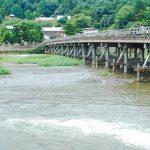 桂川氾濫の恐れ!渡月橋は大丈夫?園部川・石津川や大津川も!